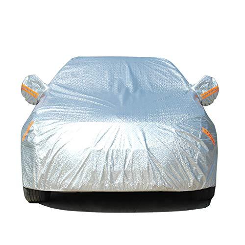 Couverture de voiture TOYOTA Couverture de voiture imperméable Protection UV Protection contre la poussière d'été Le vent, vêtements d'extérieur résistants au vent, s'adaptent à PRIUS, Subaru-Impreza