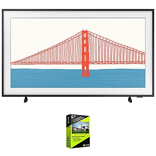 Samsung QN55LS03AA 55 pulgadas El marco QLED 4K Smart TV (2021) paquete con plan de protección extendida de 4 años de calidad superior
