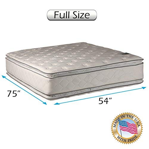 Lowest Price! Natural Dream (King) Medium Soft PillowTop Mattress Only - Double-Sided Sleep System w...