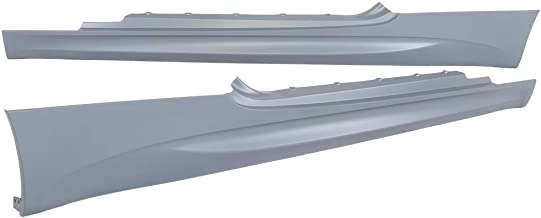 IKON MOTORSPORTS Compatible with 2007-2013 BMW E92 E93 3-Series Coupe M3 Style PP Side Skirts Extension Panels Pair