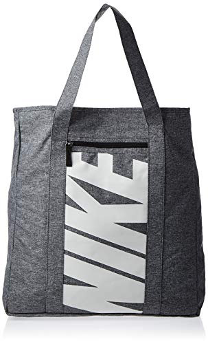 Nike Polyester 46 cms Black/Black/Vast Grey Travel Duffle (BA5446-017)