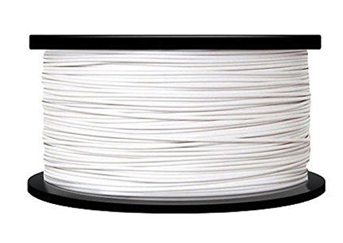 Monofilament Direct 285plawht4.5imprimante 3d Filament, précision Dimensionnelle < +/-0,05mm, 2.85mm, PLA, bobine de 4.5kg, Blanc