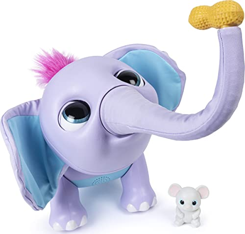 Wildluvs Juno My Baby Elephant with Interactive Moving Trunk & Over 150 Sounds & Movements