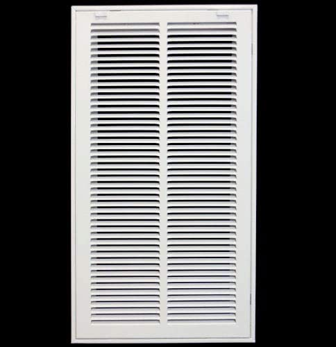 12 X 20 Steel Return Air Filter Grille for 1 Filter Removable Face Door HVAC Duct Cover Flat product image