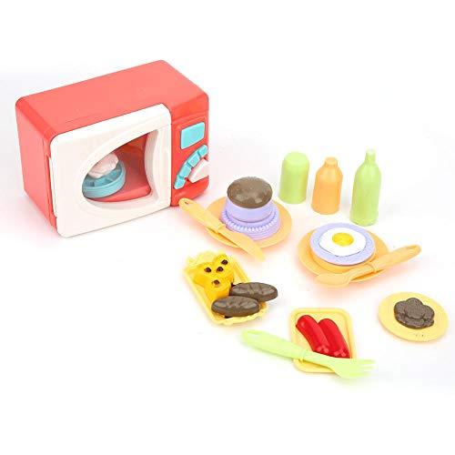 YOUTHINK Simulación Microondas Horno de Juguete Eléctrico Mini Niños Juego de Juguete de simulación para niños (Horno microondas)(Microwave Oven)