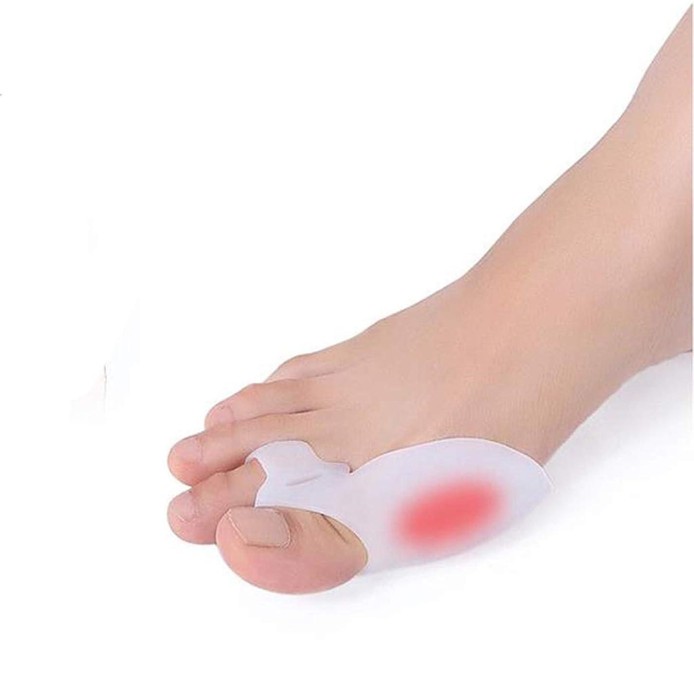垂直周術期達成Thumb Orthotics Toe OrthoticsシリコンビッグボーンケアセットThumb Eversion Toe Set