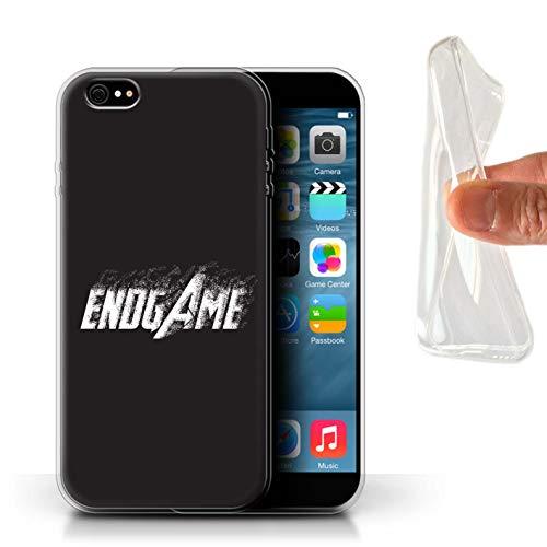 W3Tech - Carcasa para teléfono móvil, diseño de Citas de superhéroes, Efecto de desvanecimiento de Polvo, Apple iPhone 6S+/Plus