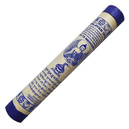 Juccini Tibetan Incense Sticks ~ Hand Rolled Himalayan Incense Made from Organic Himalayan Herbs for Prosperity and Good Luck (Medicine Buddha)