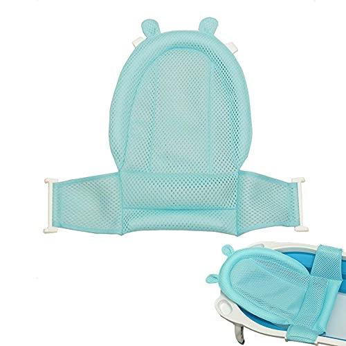 Sedile per vasca da bagno, per neonati, in rete, per vasca da bagno, regolabile, comoda vasca da bagno, seduta antiscivolo per bambini da 0 a 3 anni