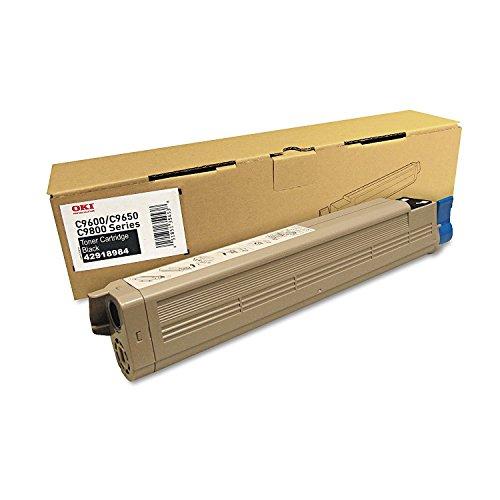 Okidata, C9650 Black Toner Cartridge (Catalog Category: Printers- Laser/Laser Drums amp; Developers)