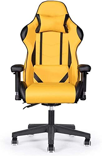 LXLXCS Office Chairs Home Reclining Office Chair Backrest Simple Lazy Game Seat Gaming Racing Chair Gaming Chair Computer Chair 2020 (Color : A, Size : Free Size)