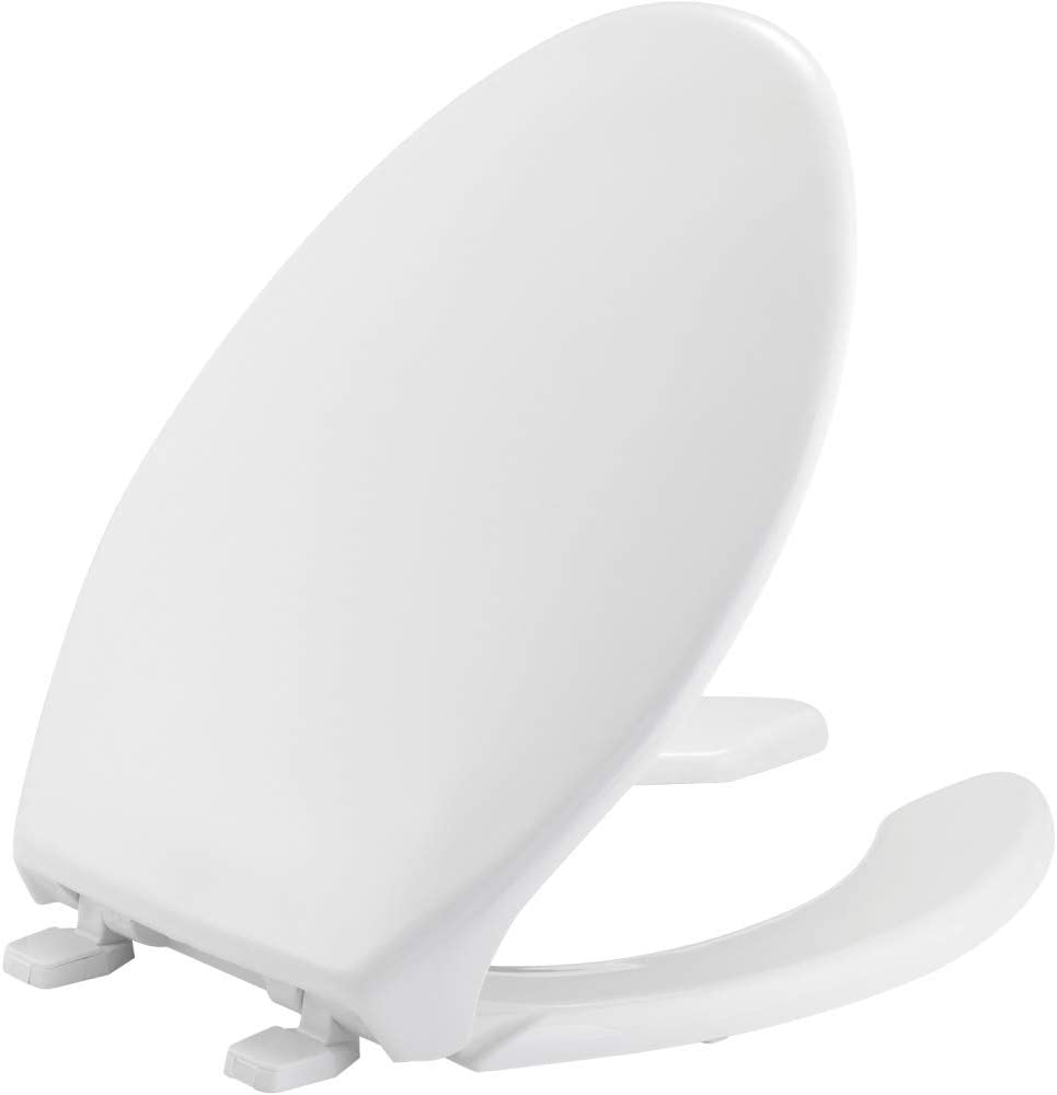 BEMIS 1950 000 Commercial Heavy Same day shipping SEAL limited product Duty Toilet Open Seat with Front
