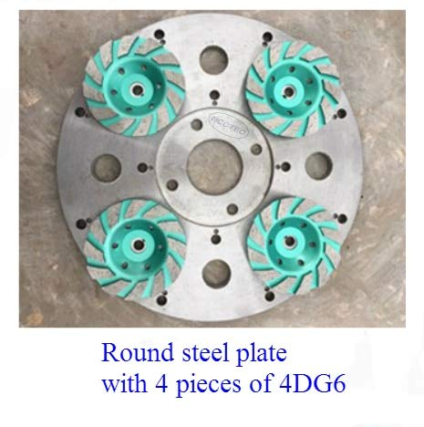 Amazing Deal Xucus 13.2'' circular Steel heavy duty rust free disc for Diamond floor grinder | 330mm...