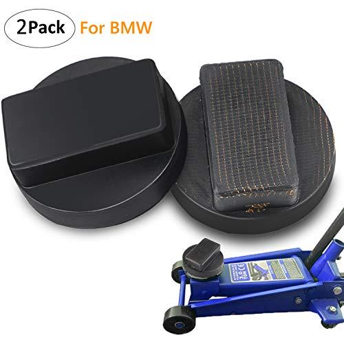 Gifort 2 Stück Wagenheber Gummiauflage, Gummi Auflage für Rangierwagenheber und Hebebühnen Ideal für Auto Tuning (BMW)