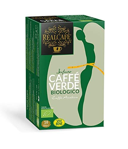RealCafè caffè verde Bio 100% Arabica 18 Filtri