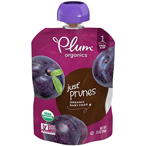 Plum Organics Stage 1 Organic Baby Food, Prune Puree, 3.5 Ounce (Pack of 12)