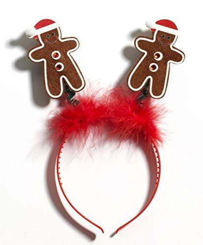 Gingerbread Man Boppers Headband