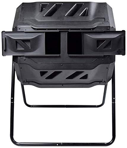 YWAWJ Compostage aérobie ménage Recyclage Fermentation Compostage Box Engrais Barrel Cour Can Safe Composter Eco légumes et de Fleurs Créer Fertile Soil Compostage Barrel 160L