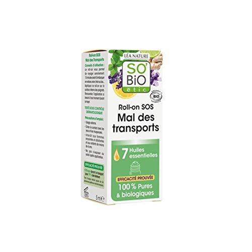 SO'BiO étic Organic Sos Motion Sickness Roll-on, 5 ml