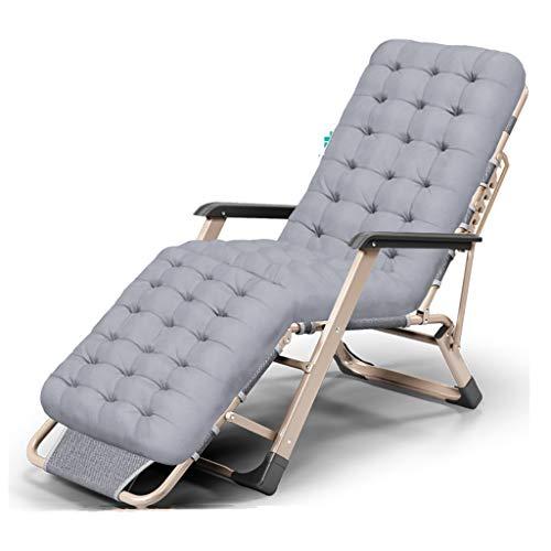 Chaise pliante Chaise longue Chaise de bureau Chaise de bureau pour loisirs en plein air Respirant Angle réglable chaises pliantes d'intérieur