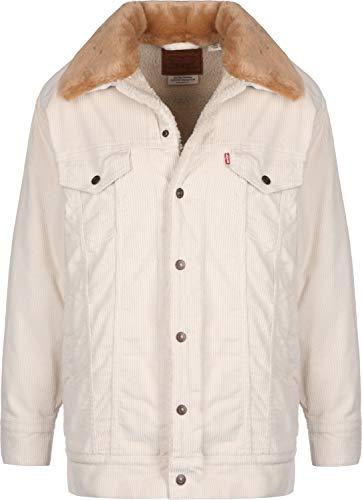 Levi's® Oversized Cord Fur W Jeansjacke ecru wide wale