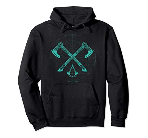 Assassin's Creed: Valhalla Crossed Axes Pullover Hoodie