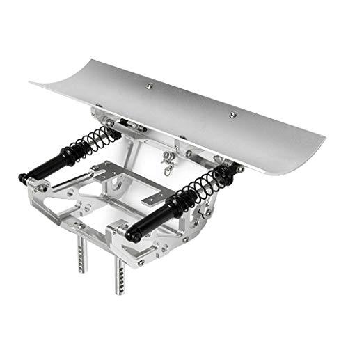 F Fityle Kit Spazzaneve in Lega di Alluminio per Cingoli RC SCX10-4 Scx10-ll Fai-da-te