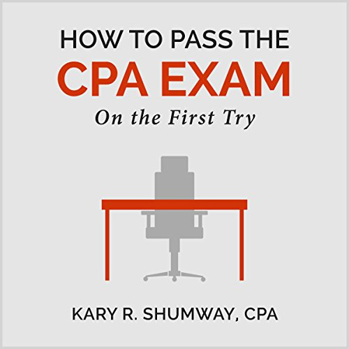 How to Pass the CPA Exam audiobook cover art