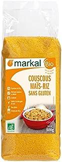 Markal Organic Maize Rice Couscous Gluten Free, 500g - Pack of 1