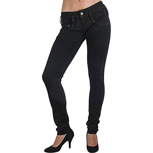 Herrlicher Damen Pitch Slim Jeans, Tempest 671,...