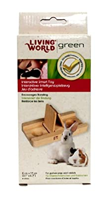 Living World Green Smart Toy Sliding Game for Gerbils/Guinea Pigs/Rabbits, Large from R C Hagen (UK) Ltd