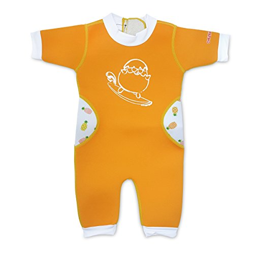 Product Image of the Warmiebabes-Baby, Toddler Thermal One Piece Kid Neoprene Swimwear, 6-12 Months,...