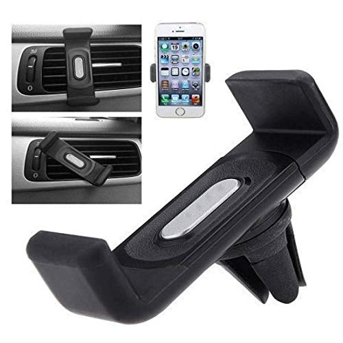 DreamFly Car AC Vent Universal Dashboard Mobile Holder with 360 Degree, Rotation Mobile Holder for Better Experience of Navigation and Performing Various Smartphone Task.