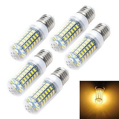 WELSUN Ampoule LED E14/E26/E27 6 W 69 SMD 5730 550 LM Blanc Chaud/Blanc Froid AC 200-240 V 5 pièce (Connector : E14, Light Source Color : Blanc Froid)