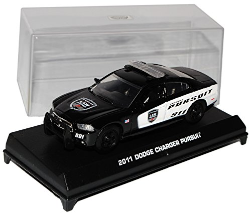 Motormax Dodge Charger Pursuit 2011 Law Police 911 Polizei 1/43 Modell Auto