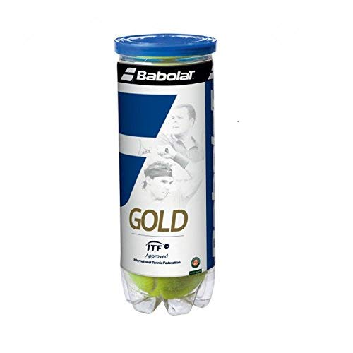 Babolat Gold High Altitude X3 Pelota de Tenis, Unisex Adulto, Amarillo, Talla...
