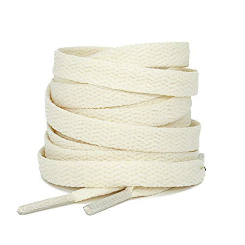 Top 10 best selling list for flat cream shoe laces 72 inch