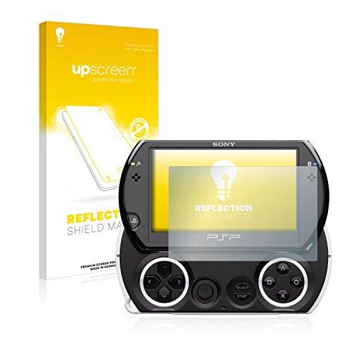 upscreen Entspiegelungs-Schutzfolie kompatibel mit Sony PSP Go – Anti-Reflex Displayschutz-Folie Matt