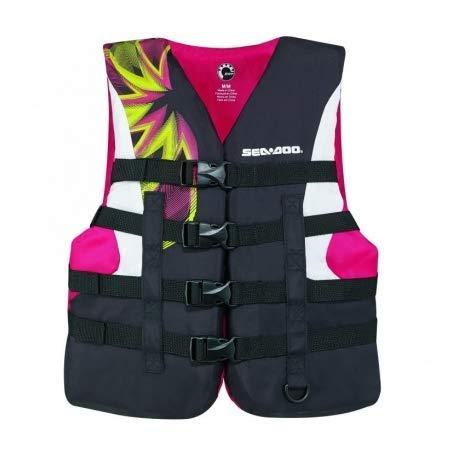 Sea-Doo - Flotador de Nailon para Mujer, Color Rosa