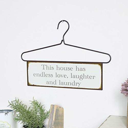 Melody Maison - Targa da parete con scritta 'This house has?'