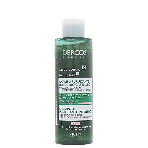 Vichy Dercos Technique - Anti Forfora K Shampoo Purificante Intensivo, 250ml