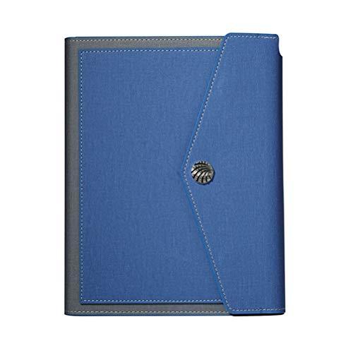 365 manuales de una página de gestión de la eficiencia diaria calendario libreta línea de tiempo los trabajadores de cuello blanco (Color : Dark blue)