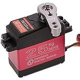 DS3225* 25kg高トルク フルメタルデジタルステアリングサーボ 防水サーボ バハのラジコン対応 (270°)
