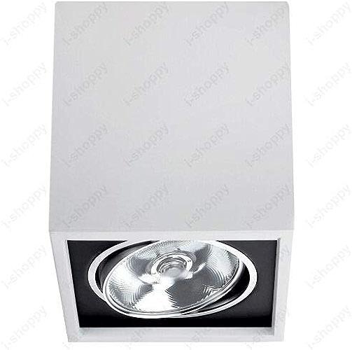 FidgetGear Lampe de Plafond LED COB Blanc Pur