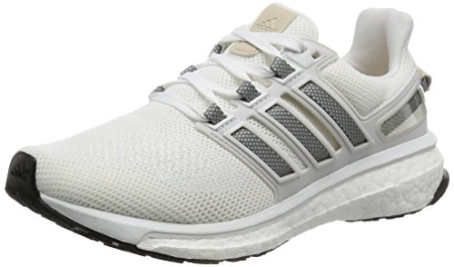 adidas Damen Energy Boost 3 Laufschuhe, Weiß (FTWR White/ch Solid Grey/Crystal White), 42 EU