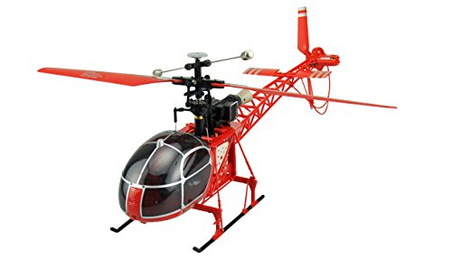 Amewi 25168 Helikopter LAMA mit LCD Fernsteuerung 4 Kanal, 2.4 GHz