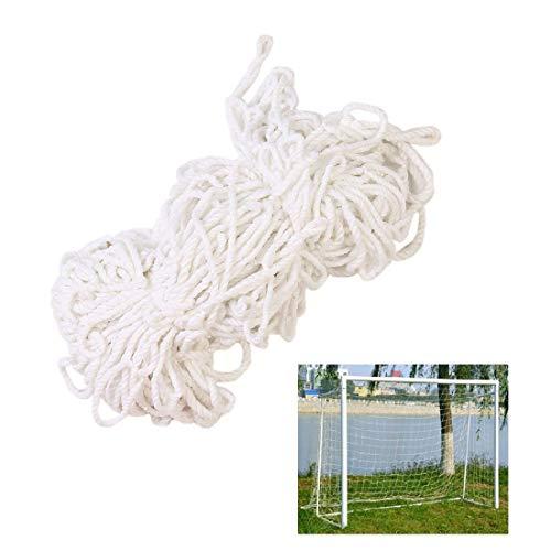 Goal Net Ersatznetze für Fußballtore Kindersicherheitsnetz Balkonschutznetz Weiß für Draussen Sport Fußballtraining Cargo Net Anhängernetz Zaun Netz (Color : 8cm, Size : 2 * 10M(7 * 33ft))