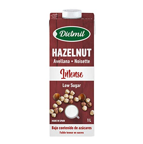 Dietmil Avellana Intense Low Sugar 1 L 1000 g