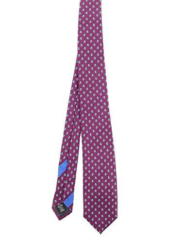 Z ZEGNA Luxury Fashion Herren Z8W041L7E Violett Seide Krawatte | Herbst Winter 20