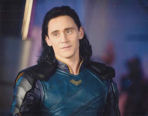 """直輸入、大きな写真「マイティ・ソー バトルロイヤル」10048、トム・ヒドルストン、""""Thor Ragnarok"""" Tom Hiddleston"""